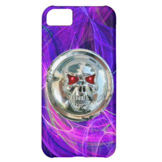 SKULL RIDERS blue purple iPhone 5C Cover