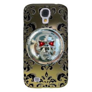 SKULL RIDERS DAMASK GEM agate Samsung S4 Case