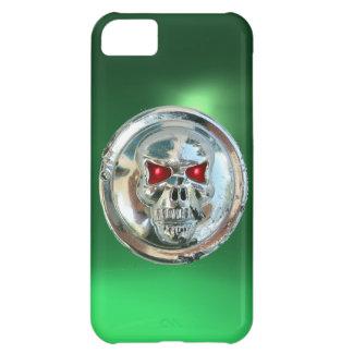 SKULL RIDERS MONOGRAM green iPhone 5C Case