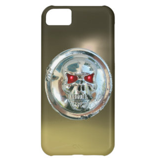 SKULL RIDERS MONOGRAM grey iPhone 5C Cover