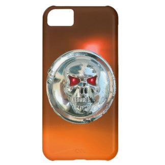 SKULL RIDERS MONOGRAM orange Cover For iPhone 5C