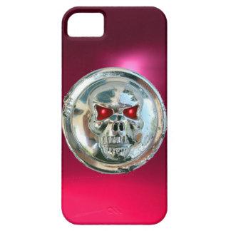 SKULL RIDERS MONOGRAM pink iPhone SE/5/5s Case