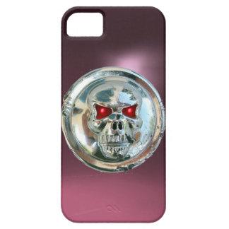 SKULL RIDERS MONOGRAM purple iPhone SE/5/5s Case