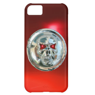 SKULL RIDERS MONOGRAM red Cover For iPhone 5C