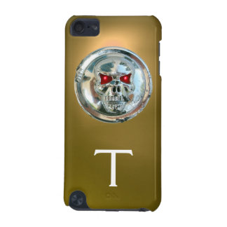 SKULL RIDERS MONOGRAM yellow iPod Touch 5G Cases