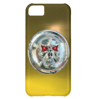 SKULL RIDERS MONOGRAM yellow Cover For iPhone 5C