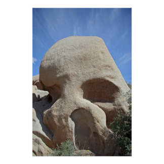 Skull Rock - Joshua Tree National Park Poster