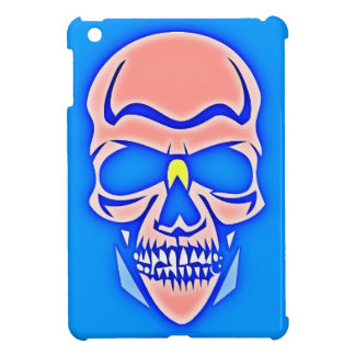 Skull Rose in blue fund iPad Mini Case