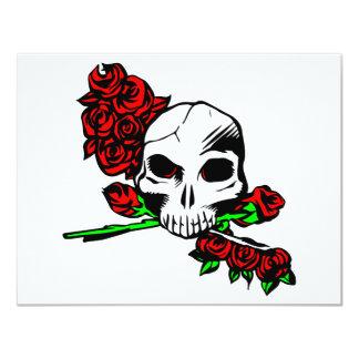 Skull & Roses Card