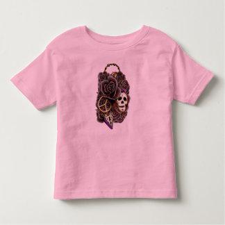 Skull Roses Lock & Key Toddler T-shirt