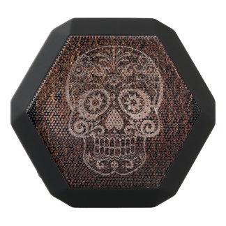 Skull, rusty black boombot rex bluetooth speaker