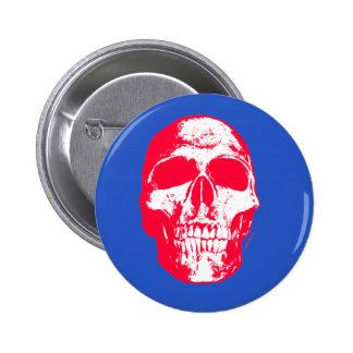 Skull RWB Button