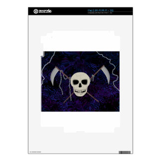 Skull & Scythes Decals For The iPad 2