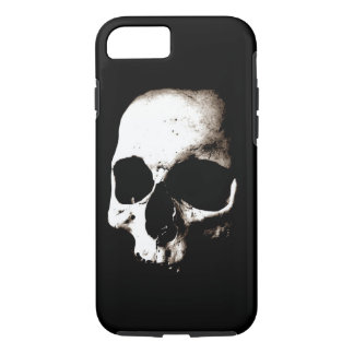 Skull - Sepia Metal Fantasy Art iPhone 7 Case