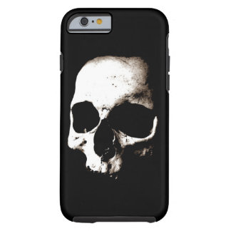 Skull - Sepia Metal Fantasy Art Tough iPhone 6 Case