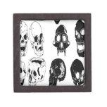 Skull set design premium jewelry boxes