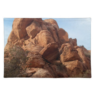 Skull-Shaped Rock Placemat