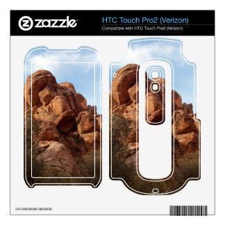 Skull-Shaped Rock HTC Touch Pro2 Skin