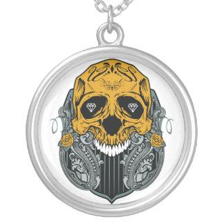 Skull Shield Necklace