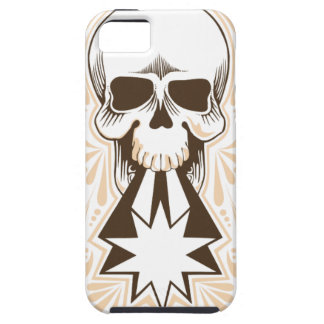 Skull Shooter with Scrollwork iPhone 5 Covers