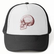 Skull Sid eRed Trucker Hat