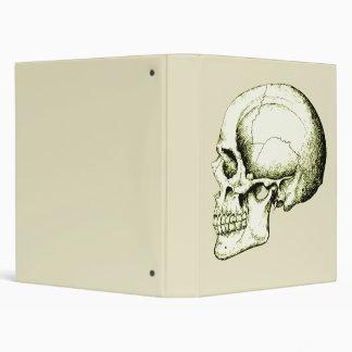 Skull Side Bronze Binder