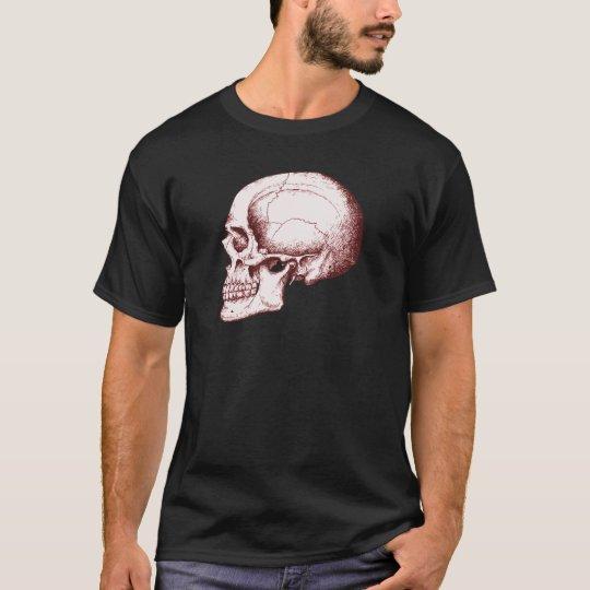 Skull Side Red T-Shirt