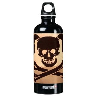 skull SIGG traveler 0.6L water bottle