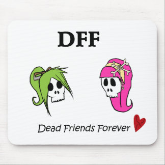 Skull Sisters Mouse Pad