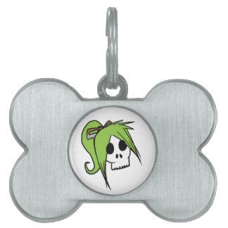 Skull Sisters Pet ID Tag