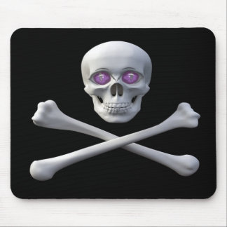 Skull Sk8ter Mouse Pad
