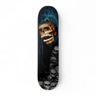 Skull-Skateboard skateboard