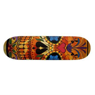 Skull Skate Board Deck