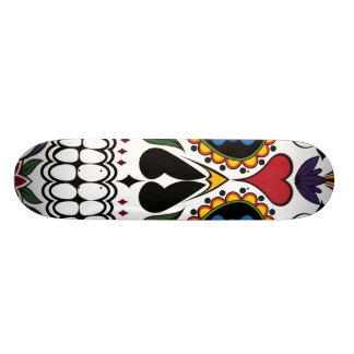 Skull Skate Deck
