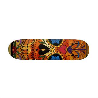 Skull Custom Skateboard
