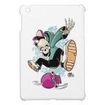 skull skateboard cartoon iPad mini cases