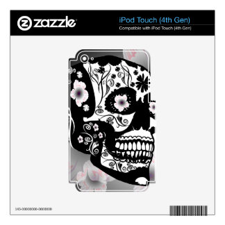 Skull Decals For iPod Touch 4G