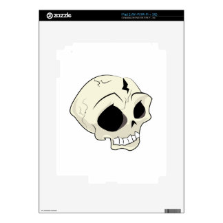 Skull iPad 2 Decal