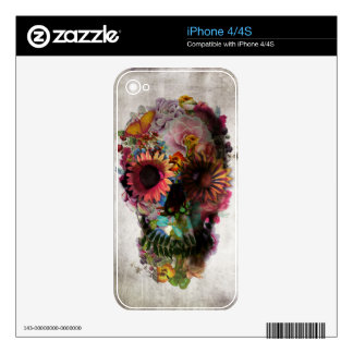 Skull Skin For The iPhone 4S