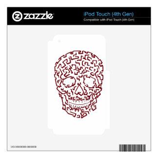 Skull Skins For iPod Touch 4G