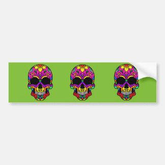 Skull Skull Bumper Sticker