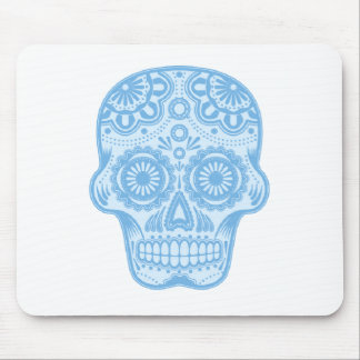 skull sky mouse pad