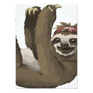 skull sloth card
