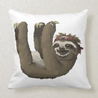 skull sloth pillow