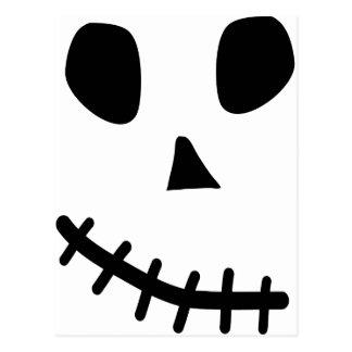 skull smile post cards