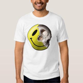 Skull smiley t-shirt