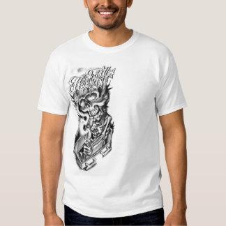 skull smoke weed T-Shirt
