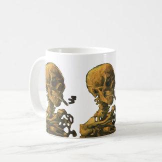 Skull Smoking Cigarette Coffee Mug