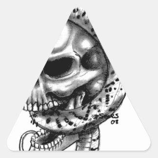 Skull Snake Artist Original Pencil sketch Skulls Stickers