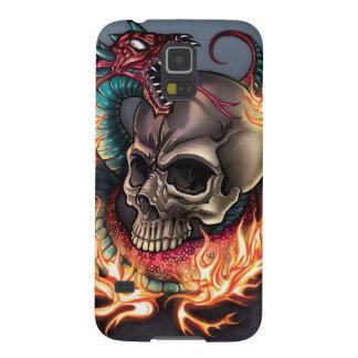 Skull + Snake Galaxy S5 Cover